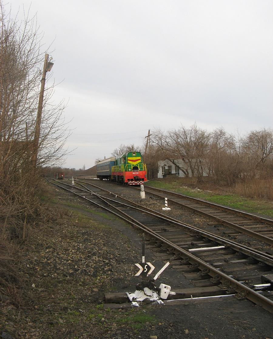Станція Яновський. Луганська область, Красний Луч