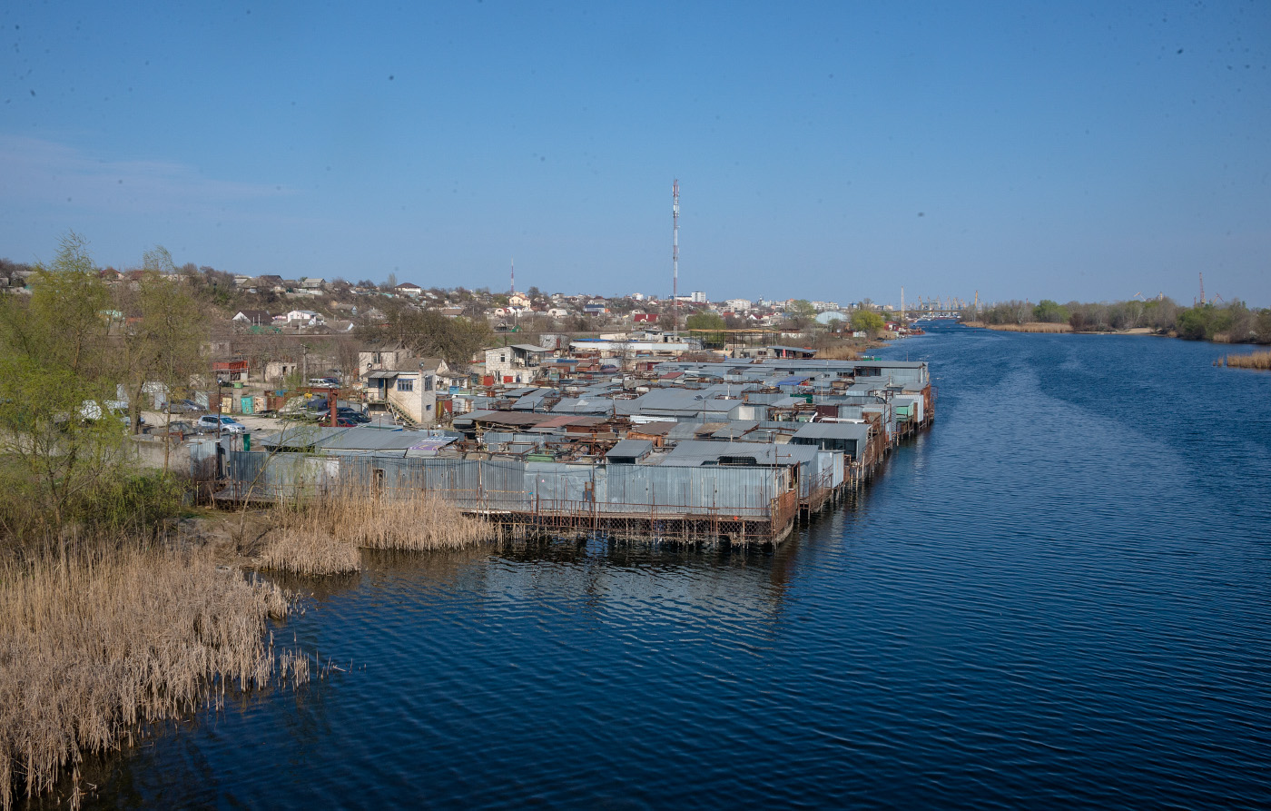 Протока Кошова. Херсон