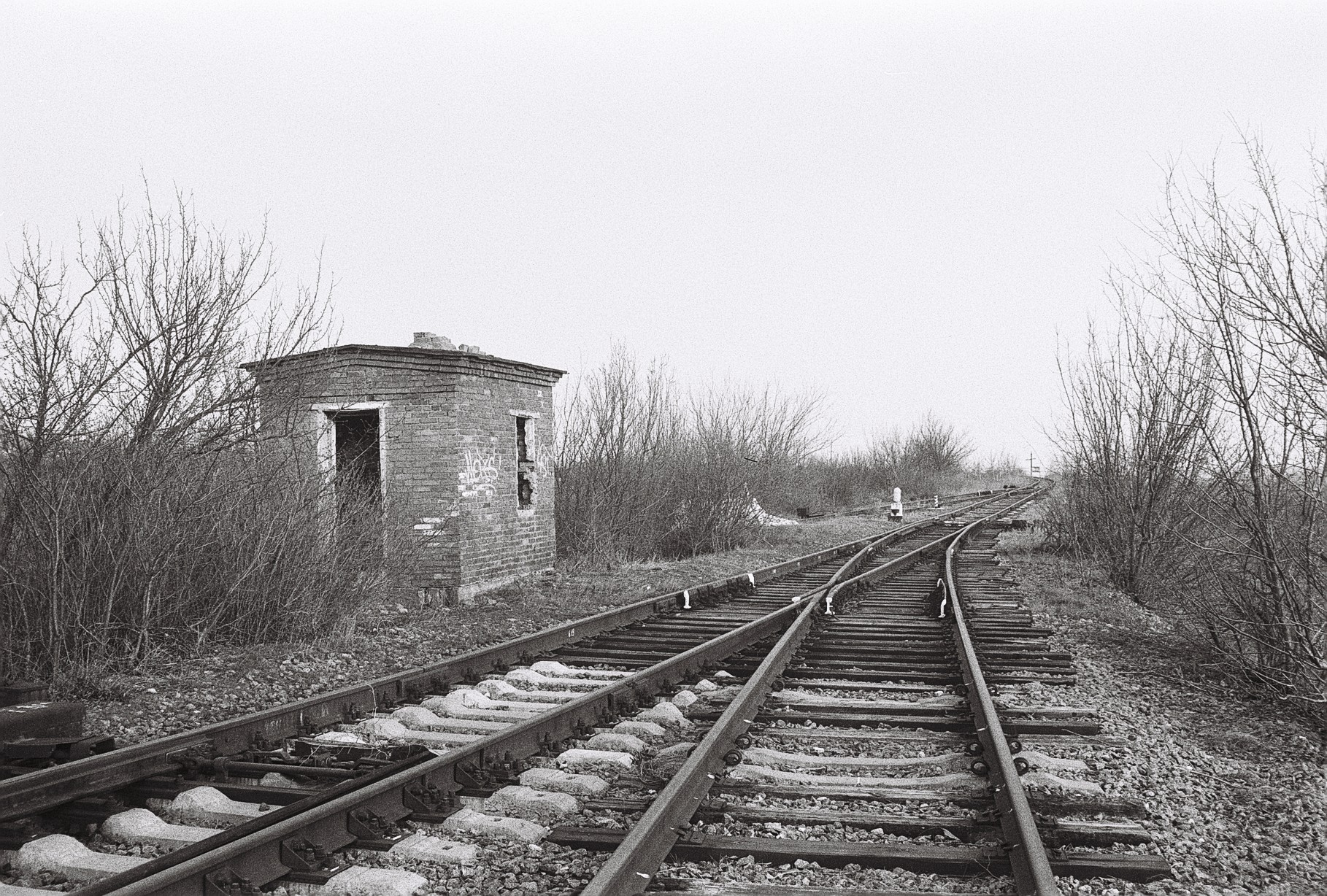 Одеська залізниця, недіюча гілка Мигаєве - Ротове, станція Новознам'янка. Одеська область, Іванівський район
